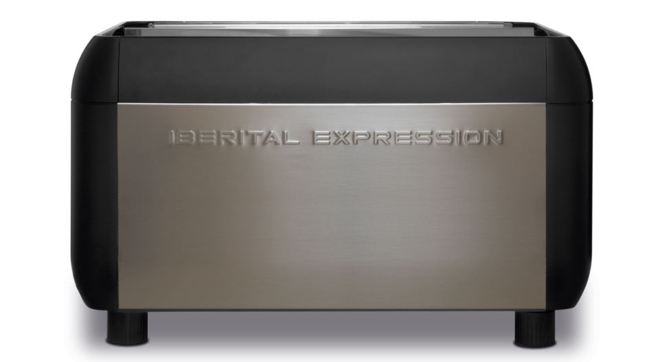 Iberital Expression Pro Two Group Espresso Machine Back View