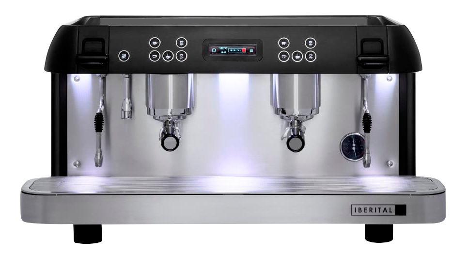 Iberital Expression Pro Two Group Espresso Machine