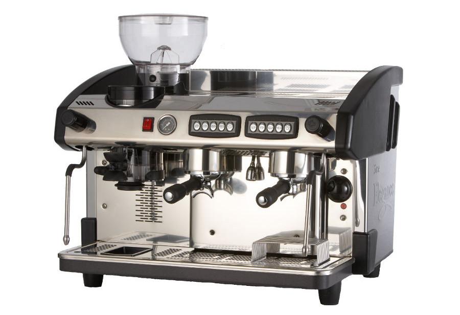 Expobar Elegance Two Group Espresso Machine with Integral Grinder