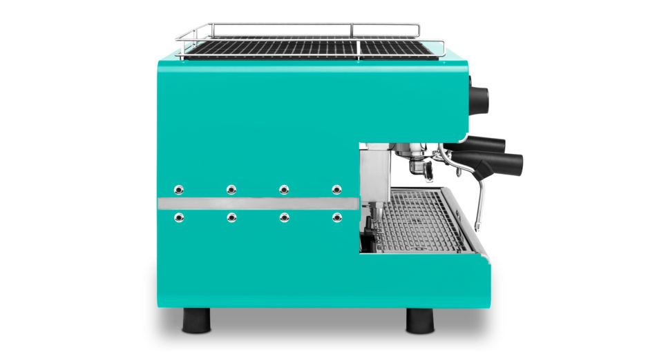 Iberital IB7 Two Group Espresso Machine Tifany Blue