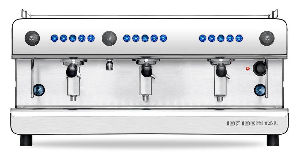 Iberital IB7 Three Group Espresso Machine