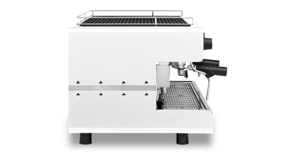 Iberital IB7 Three Group Espresso Machine Side View