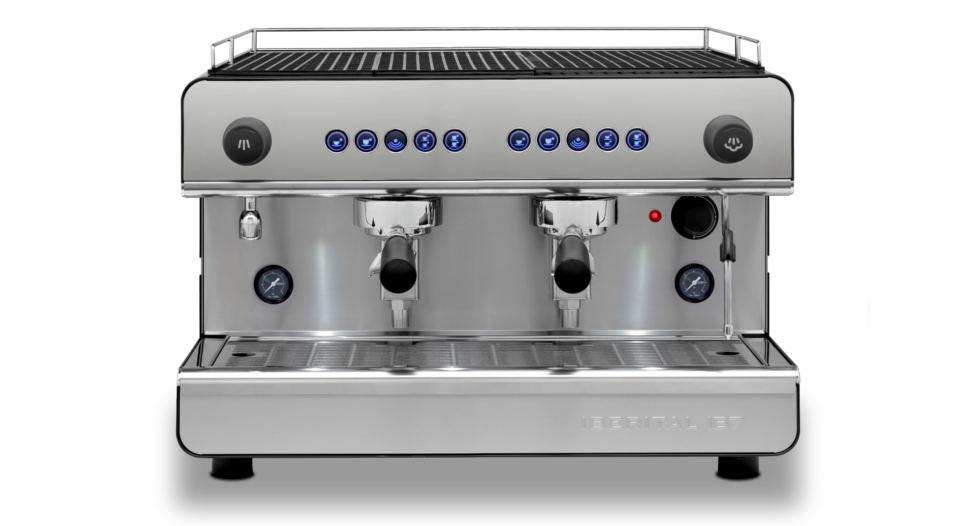 Iberital IB7 Two Group Compact Espresso Machine
