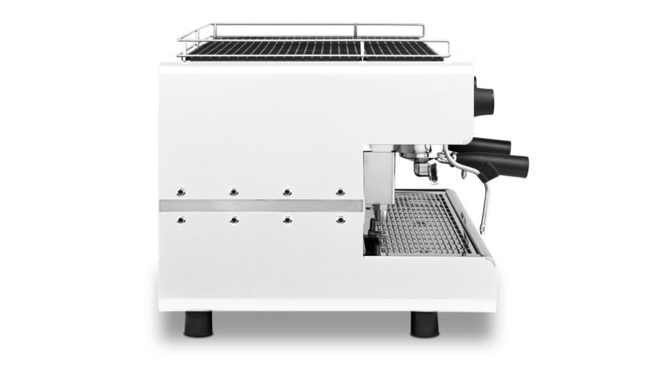 Iberital IB7 Two Group Compact Espresso Machine White