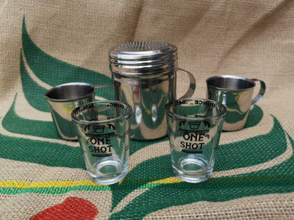Shot Glasses and Shot Pots