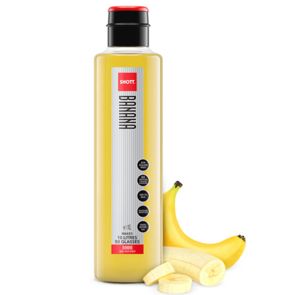 Banana Shott Fruit Syrup