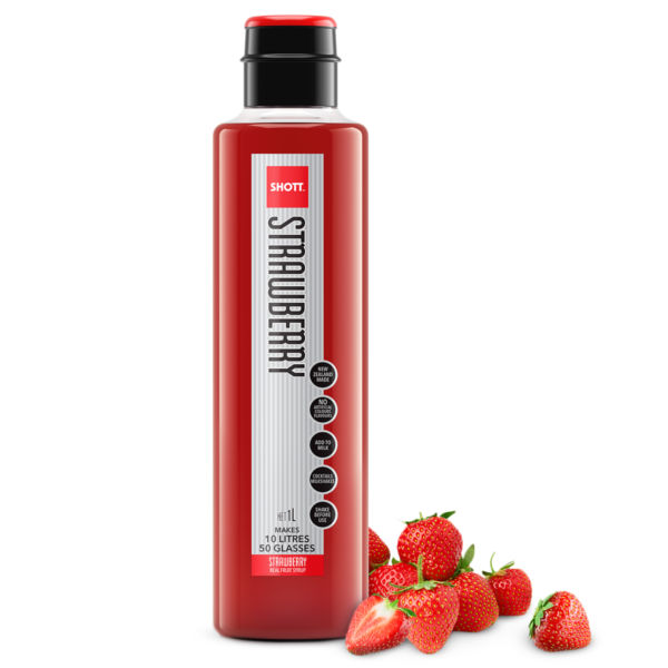 Strawberry Shott Fruit Syrup
